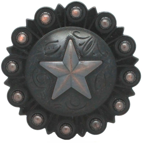 Star Berry Concho Rust Copper Front