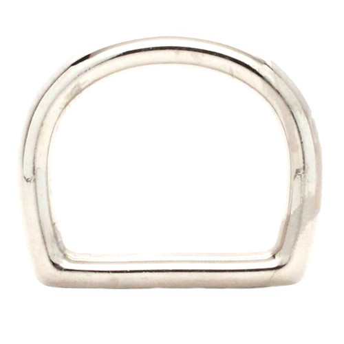 Die Cast D-Ring Nickel