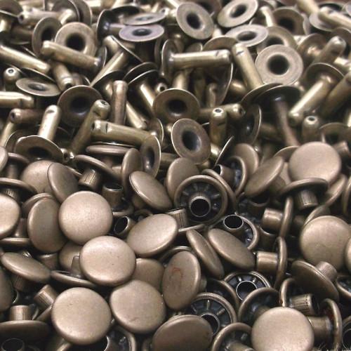 Rapid Rivet Large Antique Brass 100 Pack 1275-15 bulk