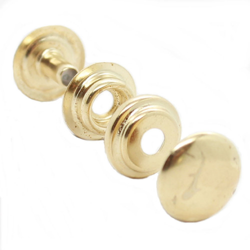 Line 24 Brass Plated Snaps 10 Pack 1263-01