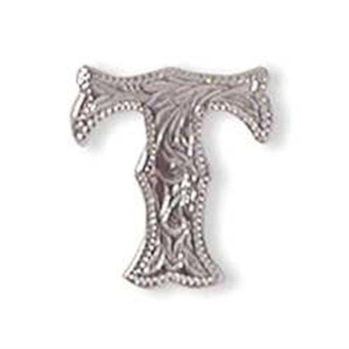Alphabet Letter T Screwback Concho 1339-20
