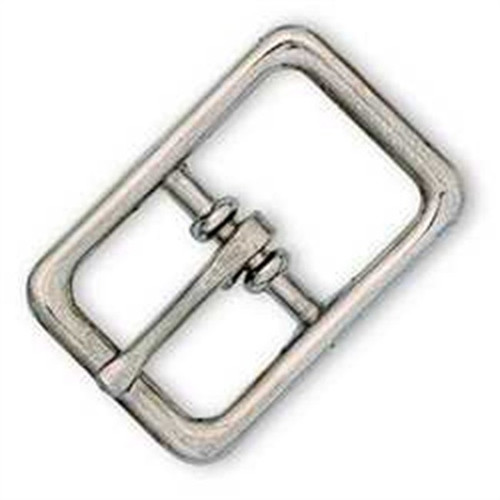 "Nickel Plated Bridle Buckle 3/4"" 1511-00"