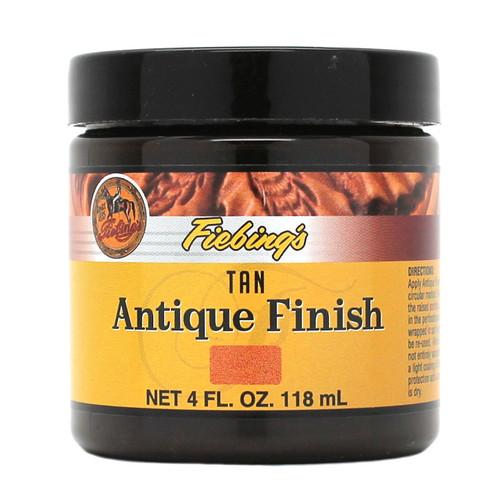 Tan Fiebing's Antique Finish Paste 4 oz.