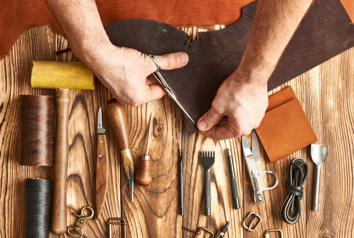 Basic Leatherworking Tools for Beginners