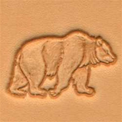 Craftool d bear stamp by tandy leather stecksstore