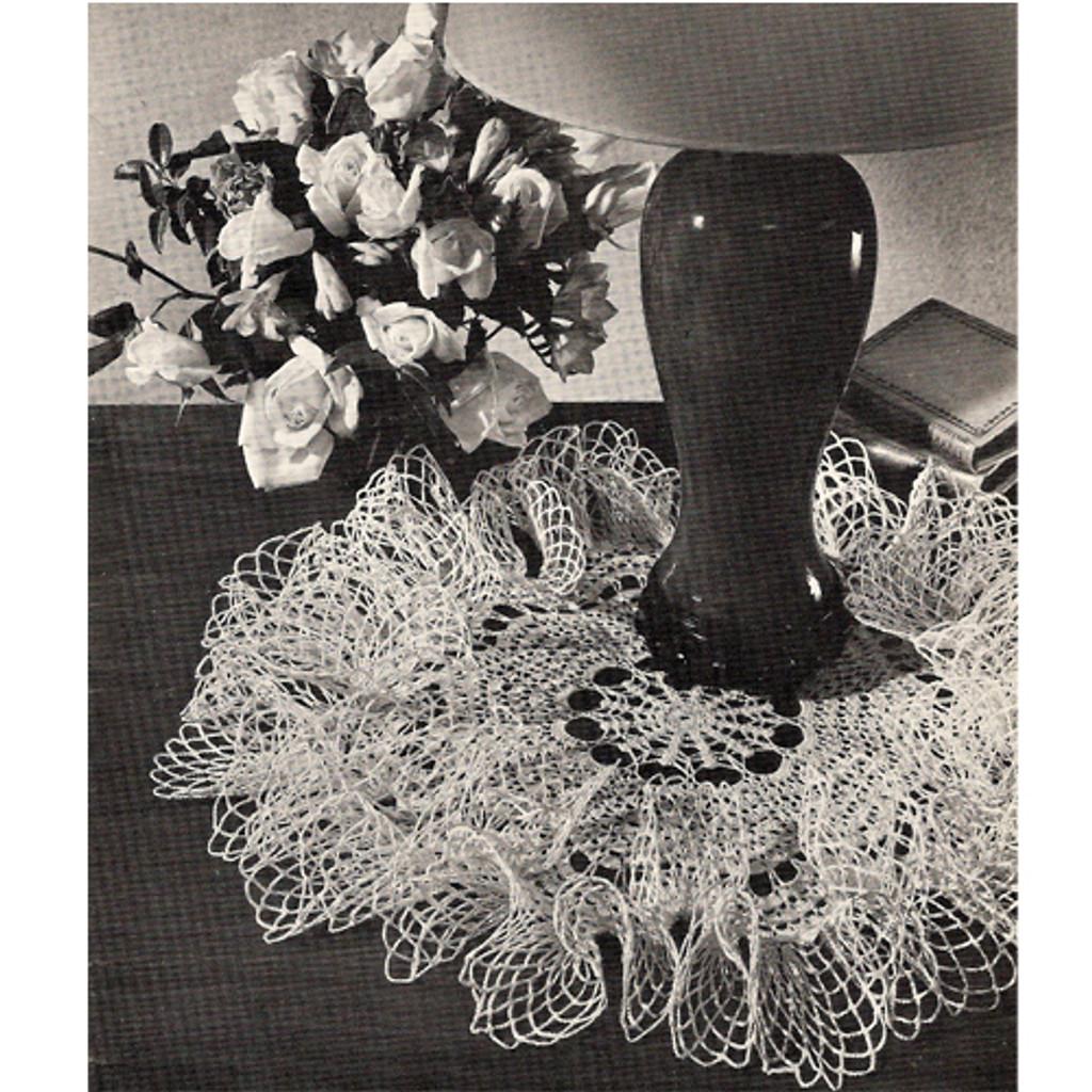 Vintage Ruffled Doily Crochet Pattern