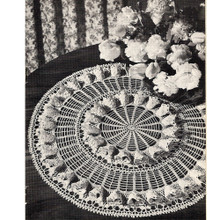 Coats & Clark's Fluted Doily Pattern