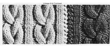 Knit Cable Stitch Illustration