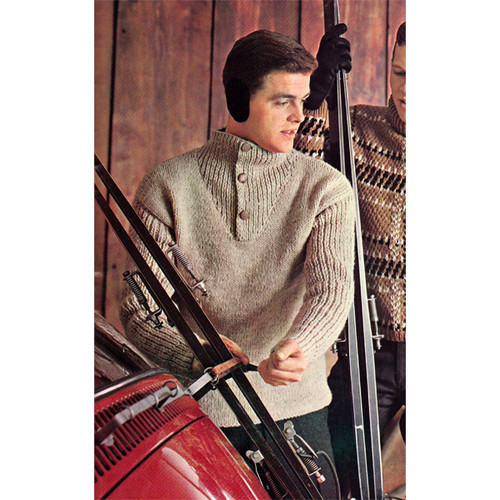 Knitting Pattern Teen Pullover Sweater