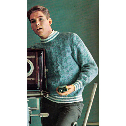 Teen Cable Knit Pullover Pattern