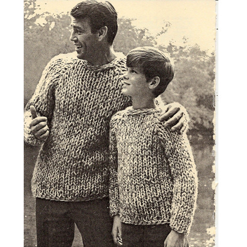Mans Pullover Knitted Baseball Sweater Pattern