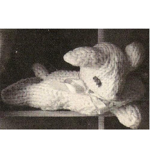 Knitting Pattern Stuffed Lamp Toy
