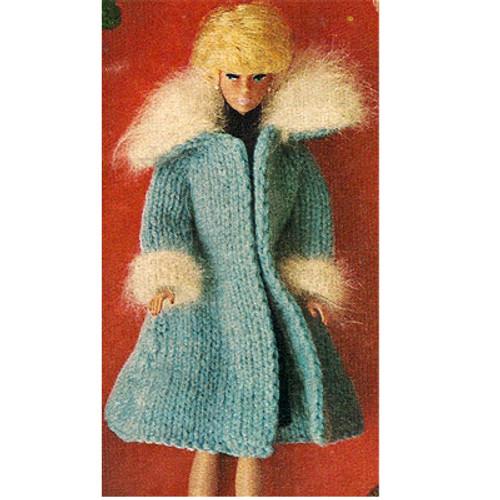 Fashion Doll Knit Coat Pattern