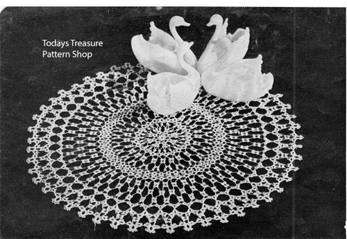 Large Tatted Doily Pattern