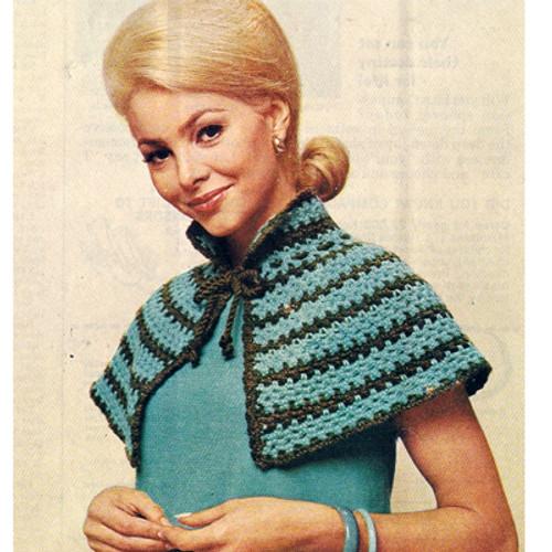 Mini Cape Crochet Pattern