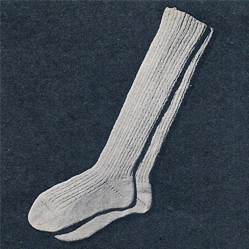 Free Knit Knee High Socks Pattern