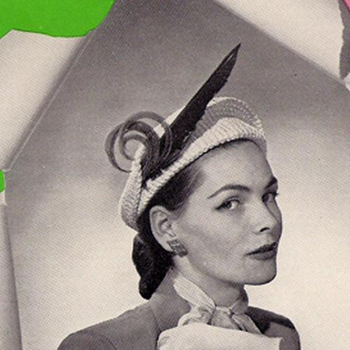 Feather Bonnet Crochet Pattern