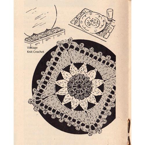 Daisy Square Crochet Pattern