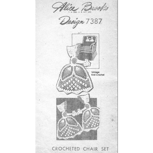 Alice Brooks 7387, Old Fashioned Girl Crochet Pattern
