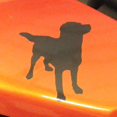 BDCW - Decal - BDCW Dog logo (reflective, small)
