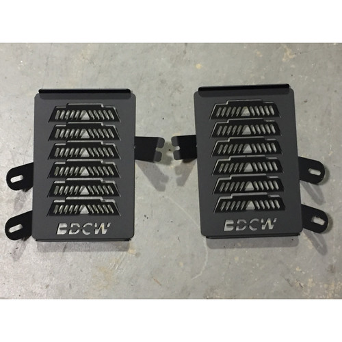 BDCW - Radiator Guards (BMW R1200GS-LC - black - 2013+)