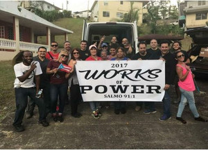 Hurricane Relief in Puerto Rico provided by Works of Power Inc and HydroBlu
