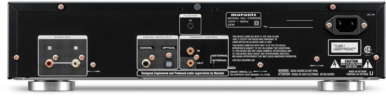 Marantz® CD6006 CD Player