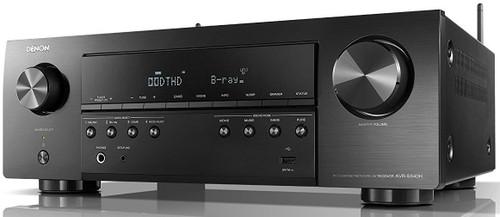 Denon® AVR-S640H 5.2 Channel 4K Ultra HD Receiver