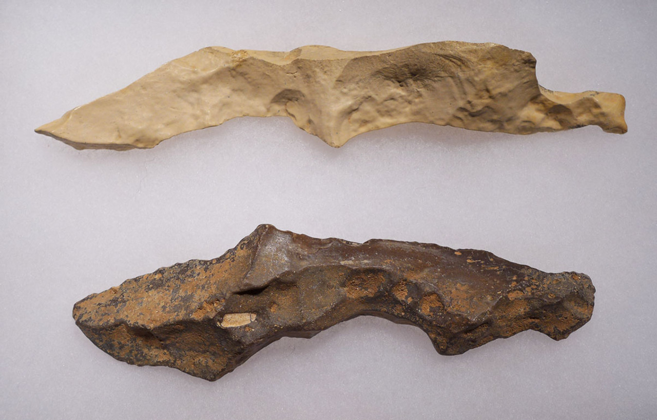 CAP200 - THE LARGEST WE HAVE EVER SEEN MUSEUM CLASS AFRICAN NEOLITHIC FLINT PICKS FROM THE CAPSIAN CULTURE