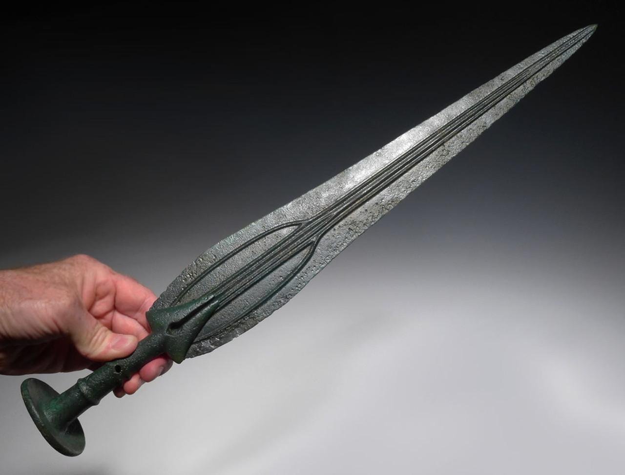 luristan ancient bronze sword