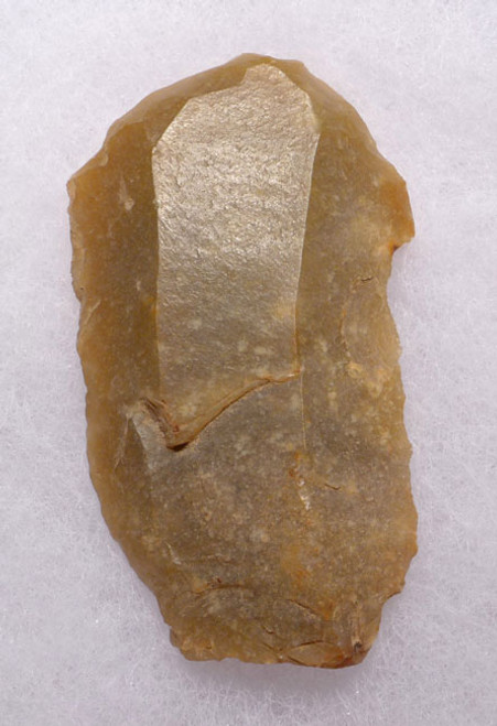 M351 - NEANDERTHAL MOUSTERIAN FLINT END SCRAPER FLAKE TOOL FROM FRANCE