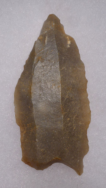 UP024 - RARE UPPER PALEOLITHIC MAGDALENIAN BURIN ART-MAKING TOOL FROM FAMOUS FRENCH CAVE ART SITE
