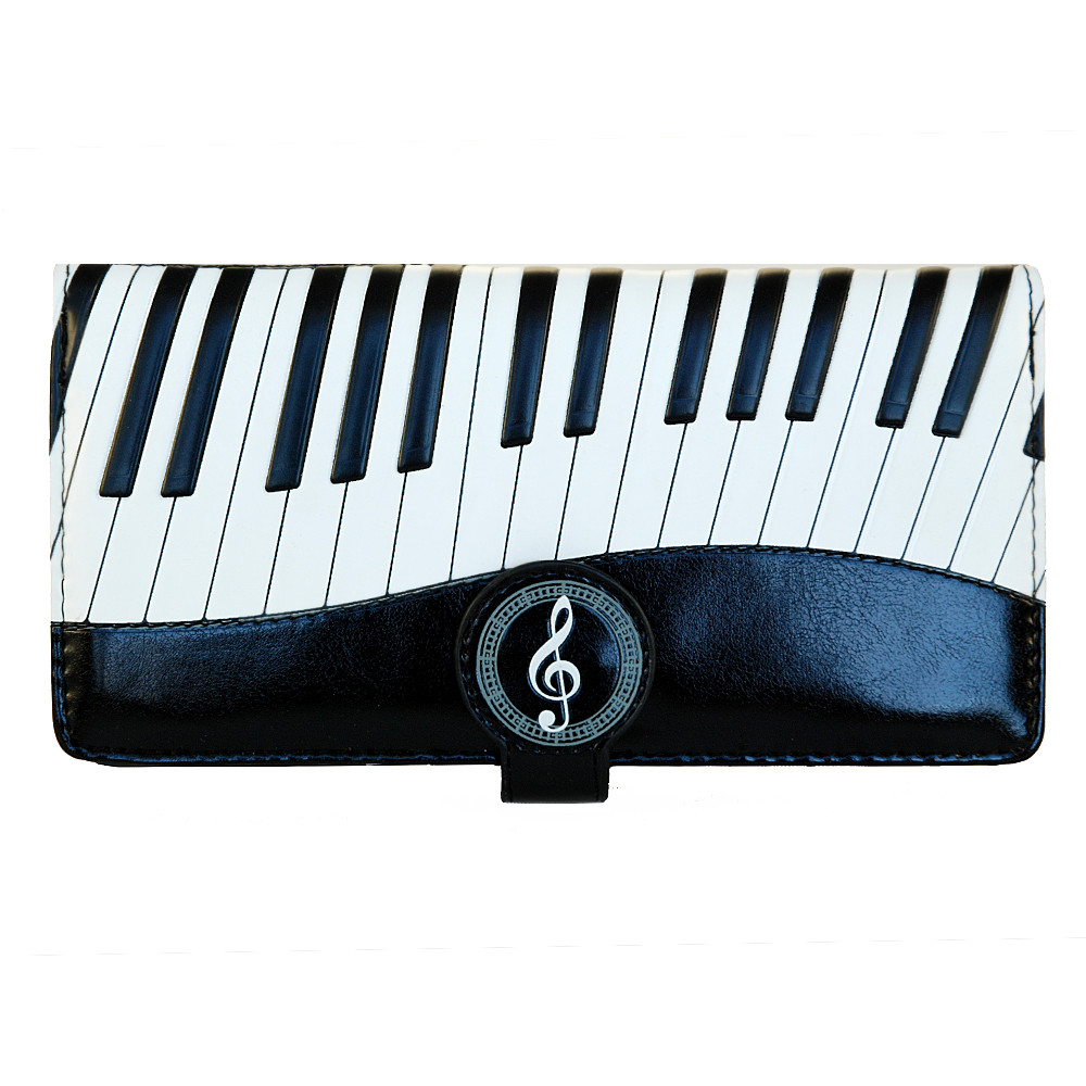 Piano Symphony - Large Zipper Wallet