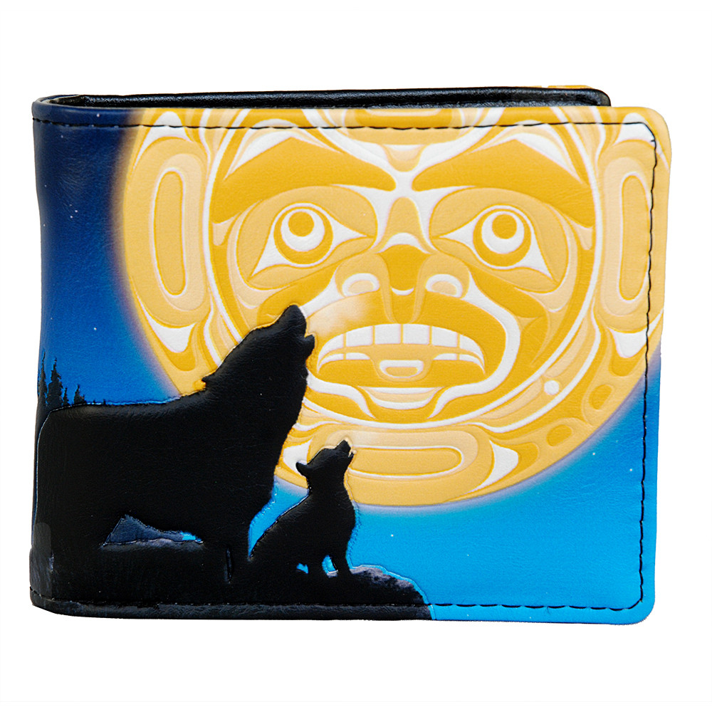 Wolf Song - Mens Wallet