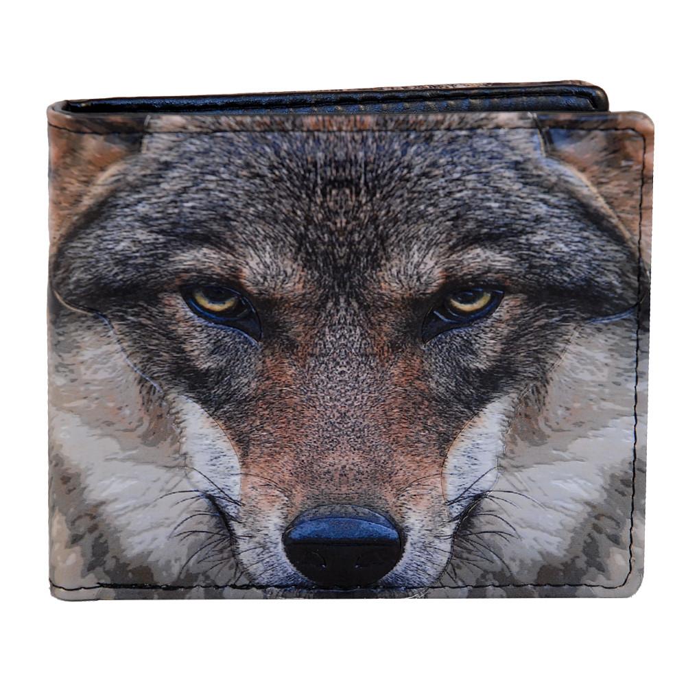 Portrait of a Wolf - Mens Wallet