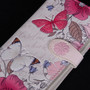 Vintage Butterfly Garden - Large Zipper Wallet