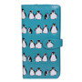 Penguin Pattern - Large Zipper Wallet