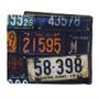 Vintage License Plates - Mens Wallet