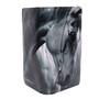 Portrait of a Horse - Large Zipper Wallet