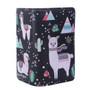 Llama Pattern - Large Zipper Wallet