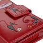 Crazy Cats - Small Zipper Wallet - Red