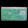 "Vintage Postcard - ""Let's Go For A Ride"" - Large Zipper Wallet"