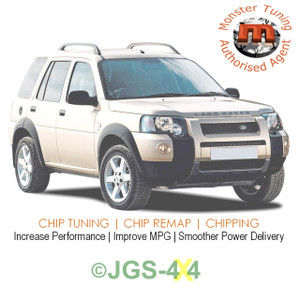Freelander 1 2.0 TD4 Monster Tuning Remap Performance Engine Tune