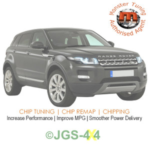 Range Rover Evoque TD4 Monster Tuning Remap Performance Engine Tune