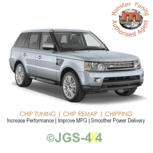 Range Rover Sport 2.7 TDV6 Monster Tuning Remap Performance Engine Tune