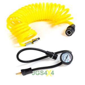 T-MAX 12V Air Compressor Spare Air Hose And Tyre Valve Connector - BA2660