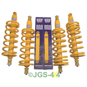 "Land Rover Defender 90 Suspension +2"" Lift Kit Coil Spring & Shock Medium Load"