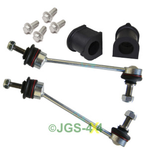 Land Rover Freelander 1 Front Anti Roll Bar ARB Repair Kit Bushes Links & Bolts