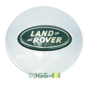Land Rover Freelander 1 & 2 Alloy Wheel Centre Cap Silver 63mm - LR001156