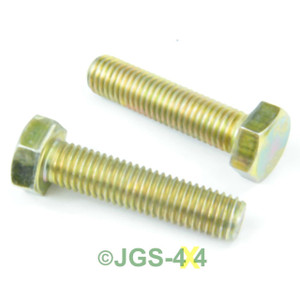 Land Rover Defender Discovery Range Rover Steering Stop Bolt x2 - SH112505
